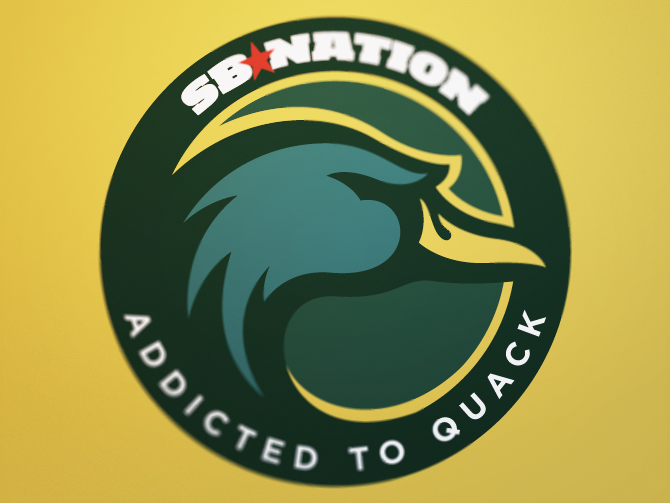 Oregon Ducks SB Nation logo by Fraser Davidson