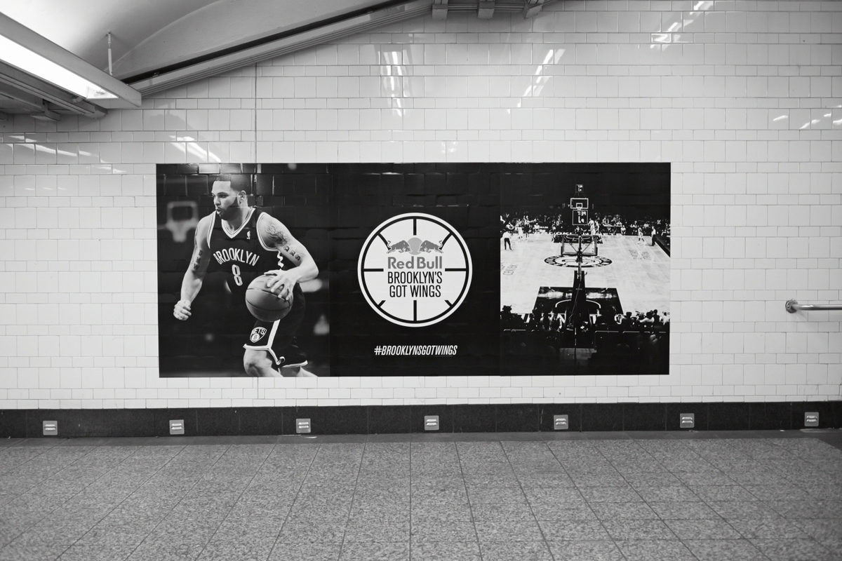 red bull gives you wings brooklyn nets campaign by doubleday and cartwright