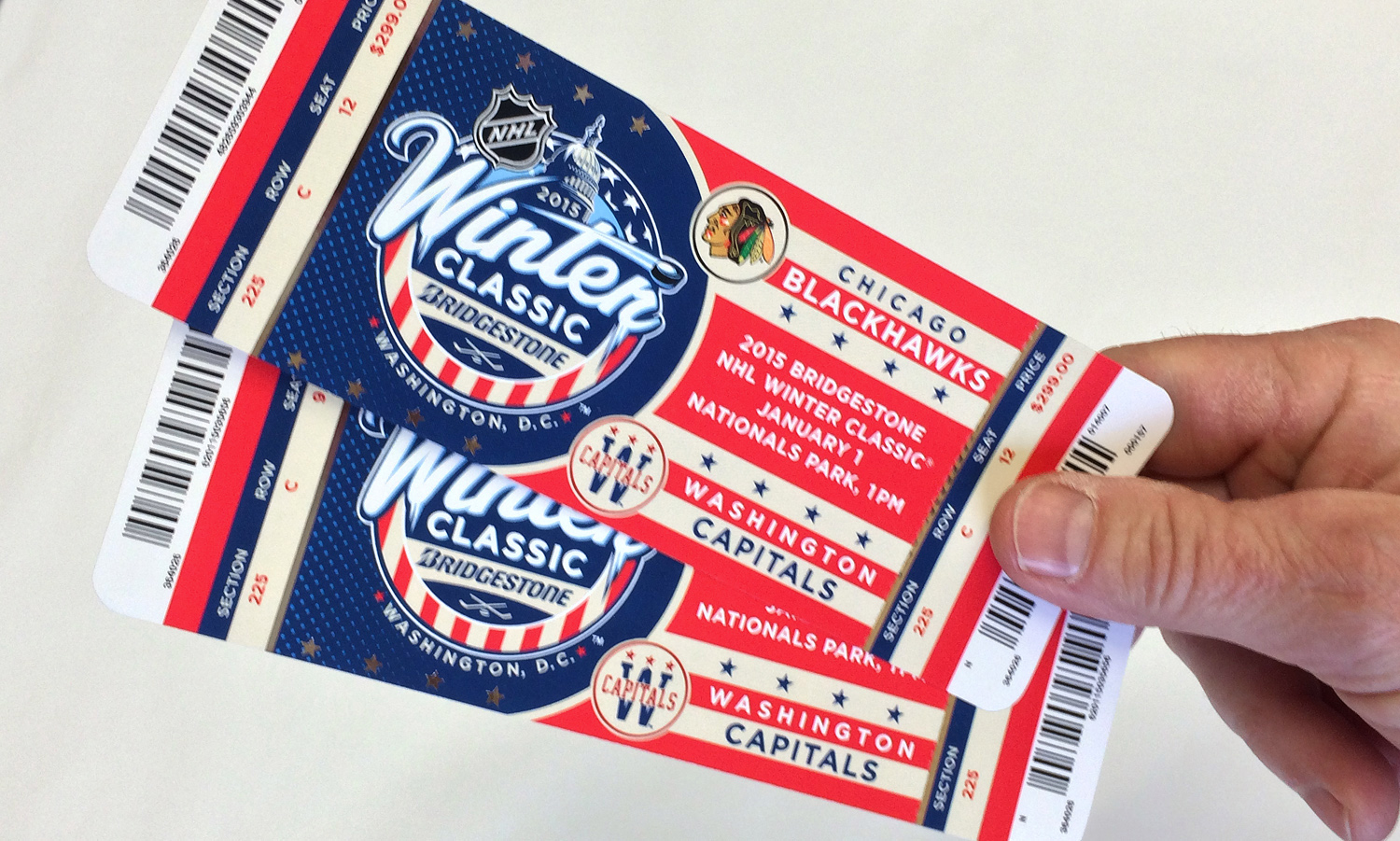 nhl winter classic ticket designs by fanbrandz