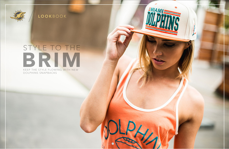 Miami Dolphins Lookbook by Surf Melendez and team