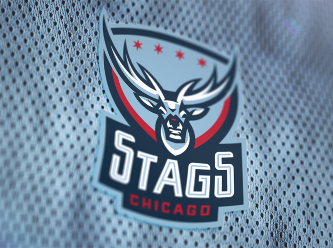 Stags mesh logo by Fraser Davidson