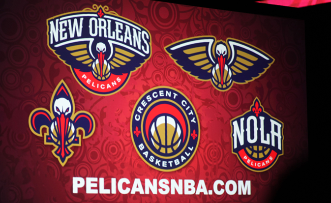 New Orleans Pelicans sports branding and identity system