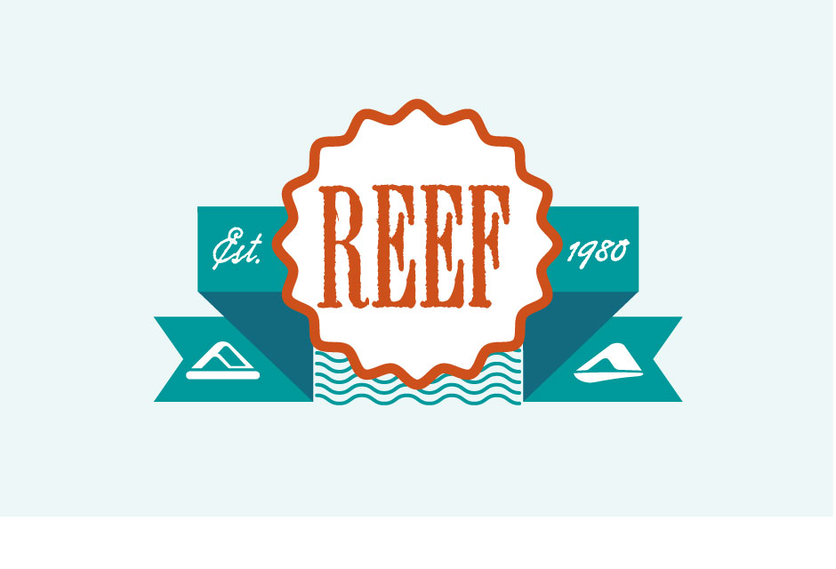 Reel logo by Brian Lindstrom
