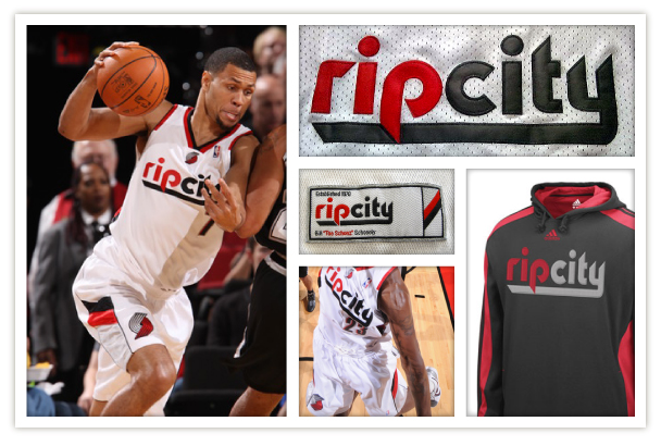 Portland Trailblazers Rip City brand