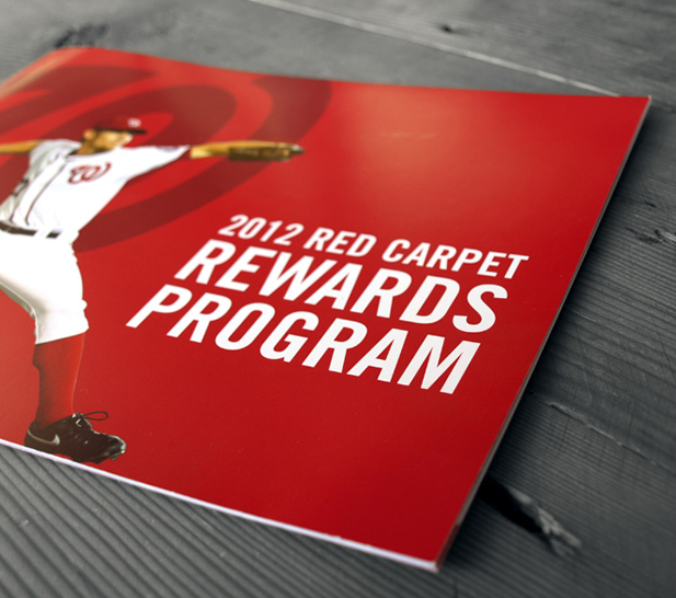 Washington Nationals marketing campaign booklet