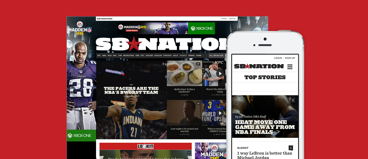 SB Nation redesign