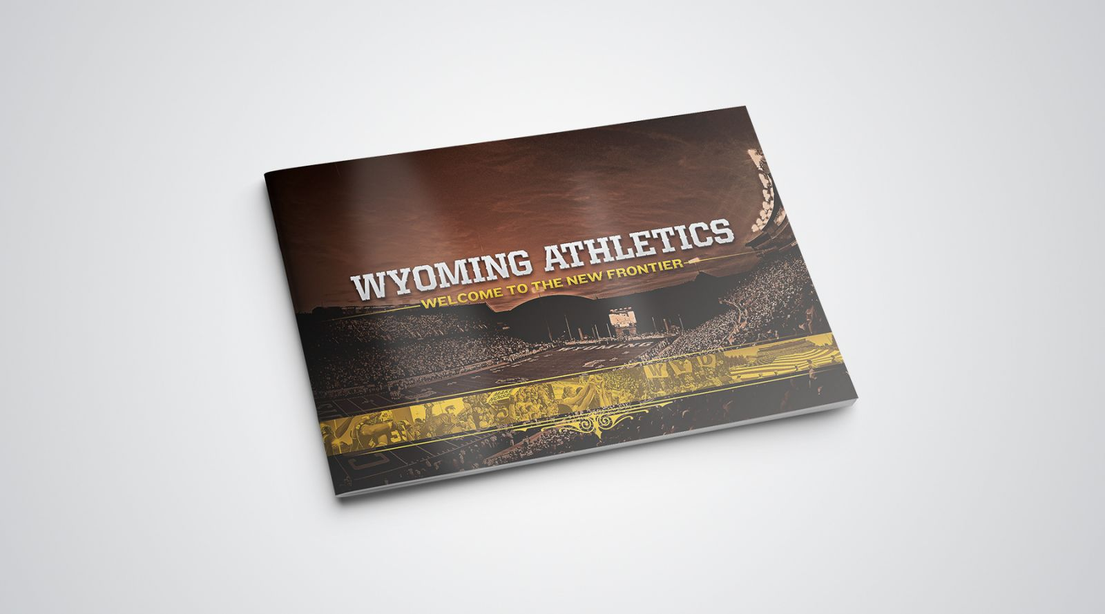 Wyoming Athletics rebrand pitch by Brian Gundell