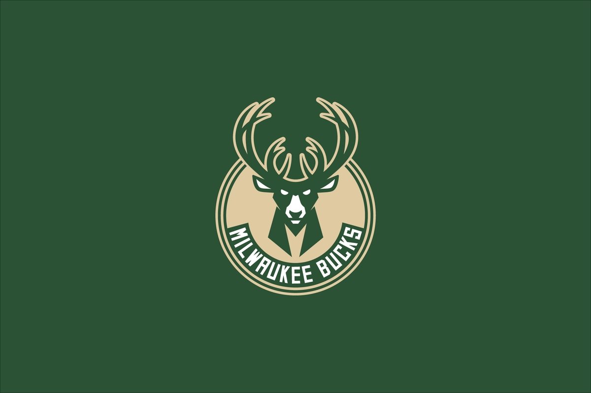 Milwaukee bucks logo by doubleday and cartwright
