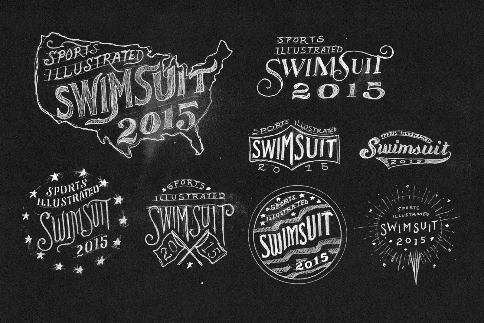 sports illustrated 2015 swimsuit edition logos by jon contino