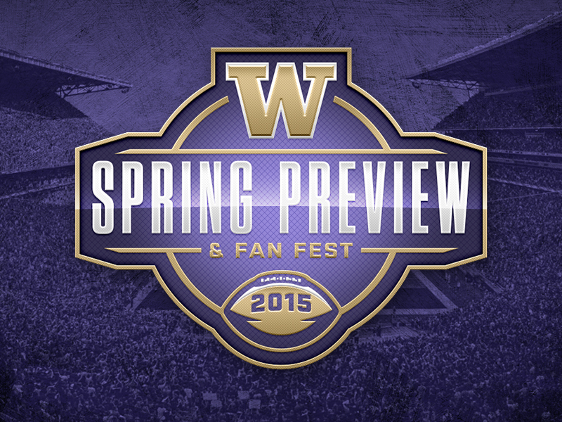 Washington Football 2015 Fan Fest logo by Brian Gundell