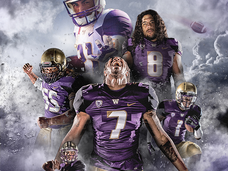 Washington Football Movie Poster by Brian Gundell