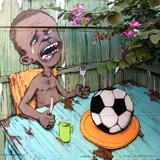 Brazilian Street Artist's Mural Raises Questions About Our Sports-Over-Poverty Culture